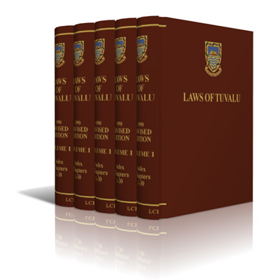 Set of books for Tuvalu laws